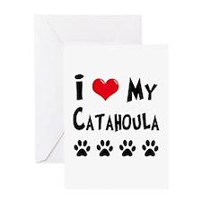 Catahoula Greeting Card