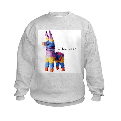 I'd Hit That Kids Sweatshirt