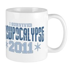 I Survived Snowpocalypse 2011 Mug