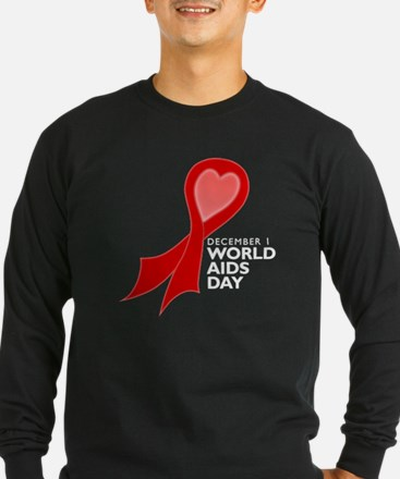 Worlds AIDS Day Red Ribbon T