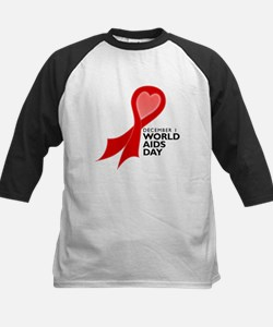 Worlds AIDS Day Red Ribbon Tee