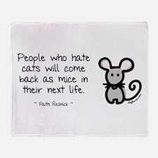 Come Back as Mice Throw Blanket