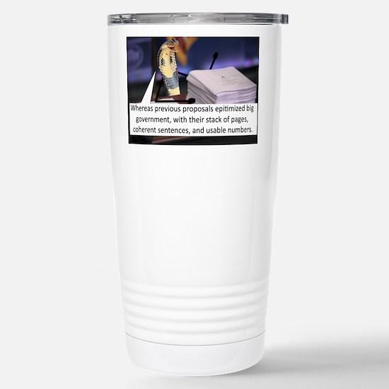 Cute Proposal Travel Mug