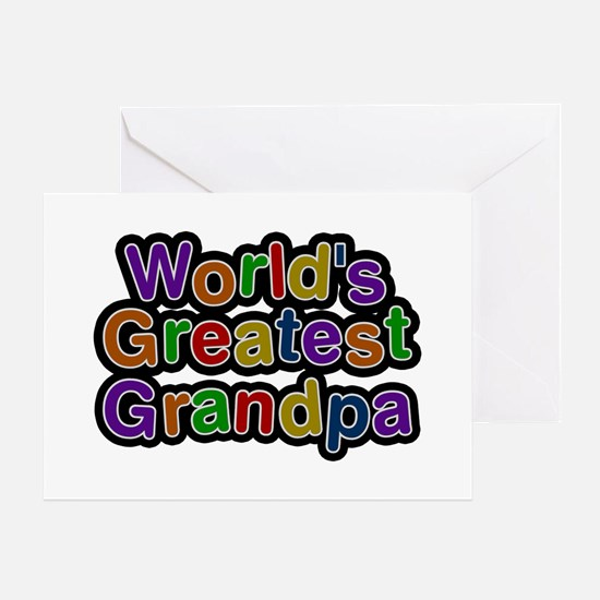 World's Greatest Grandpa Greeting Card