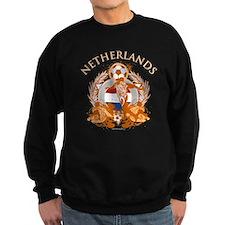 Netherlands Soccer Dark Sweatshirt