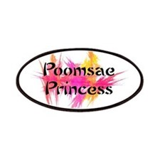 Poomsae Princess Patches