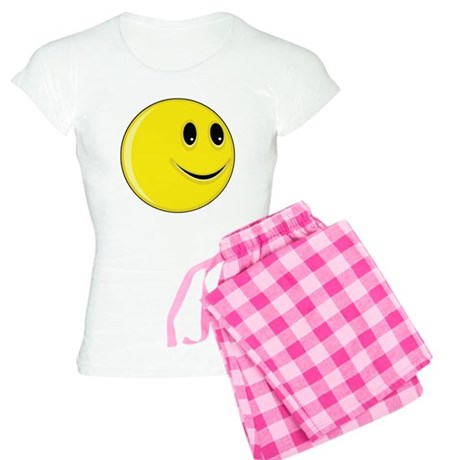 Smiley Face - Looking Left Women's Light Pajamas