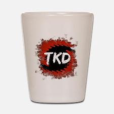 TKD Hurricane Shot Glass