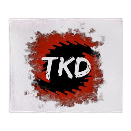 TKD Hurricane Throw Blanket