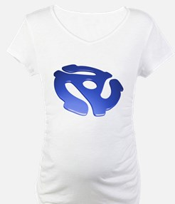Blue 3D 45 RPM Adapter Shirt
