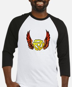 Red Winged 45 RPM Adapter Baseball Jersey