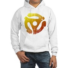 Distressed 45 RPM Adapter Jumper Hoody