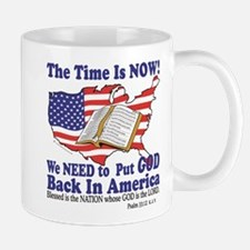 Put God Back in America Mug