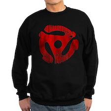 Distressed Red 45 RPM Adap Dark Jumper Sweater