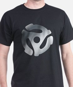 Silver 45 RPM Adapter T-Shirt