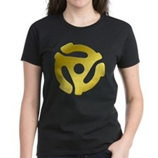 Gold 45 RPM Adapter Tee