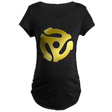 Gold 45 RPM Adapter T-Shirt