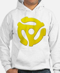 Yellow 45 RPM Adapter Hoodie