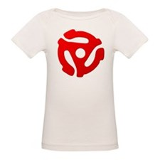 Red 45 RPM Adapter Tee
