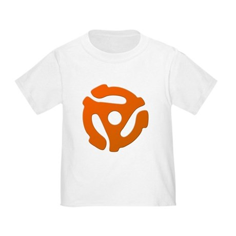 Orange 45 RPM Adapter Toddler T-Shirt