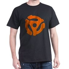 Orange 45 RPM Adapter T-Shirt