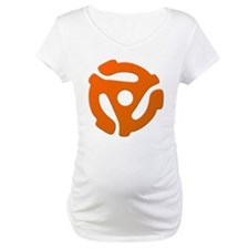 Orange 45 RPM Adapter Shirt