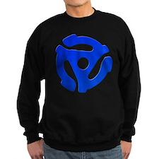 Blue 45 RPM Adapter Dark Jumper Sweater