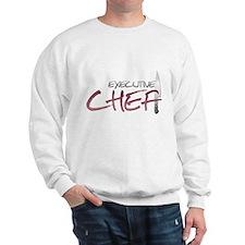 Red Executive Chef Sweatshirt