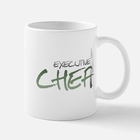 Green Executive Chef Mug