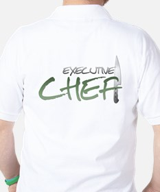 Green Executive Chef Golf Shirt