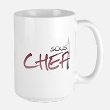 Red Sous Chef Mug