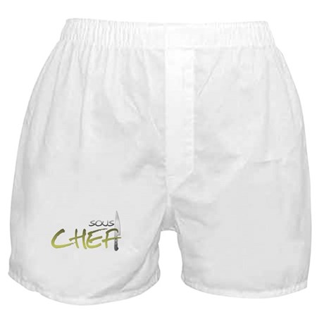 Yellow Sous Chef Boxer Shorts
