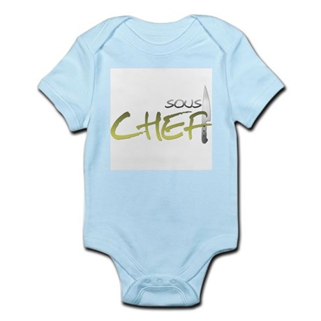 Yellow Sous Chef Infant Bodysuit