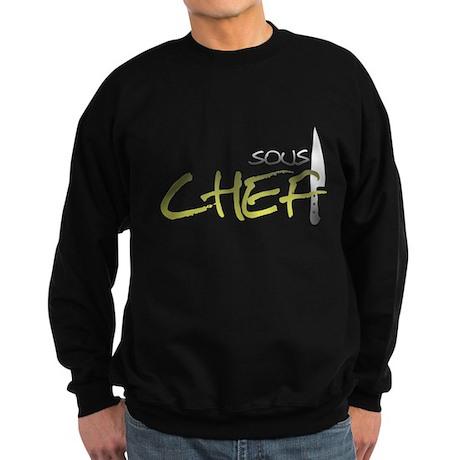 Yellow Sous Chef Dark Sweatshirt