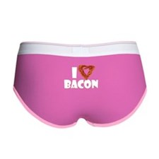 I Heart Bacon Women's Boy Brief