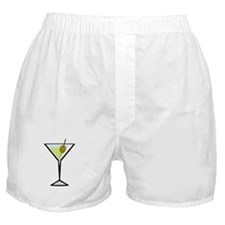 Dirty Martini Boxer Shorts