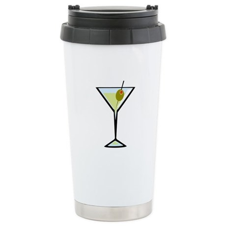 Dirty Martini Stainless Steel Travel Mug