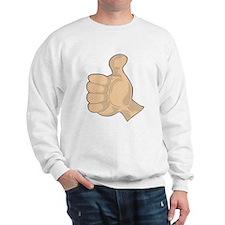 Hand - Thumbs Up Sweatshirt