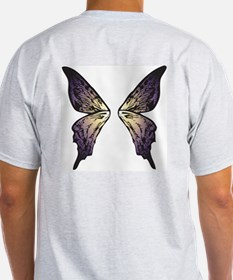 Sunset Butterfly Wings T-Shirt