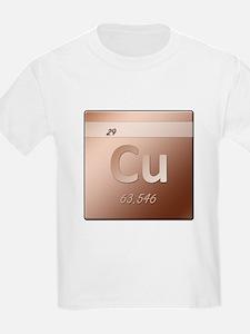 Copper (Cu) T-Shirt