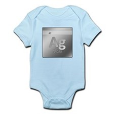Silver (Ag) Infant Bodysuit