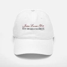 Jesus Loves You... White or Khaki Baseball Baseball Cap