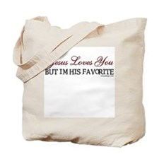 Jesus Loves You... Tote Bag