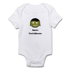 Personalized Baby's 1st Halloween Infant Bodysuit