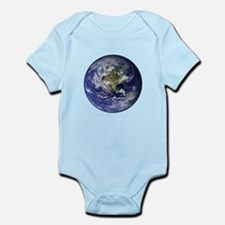 Western Earth from Space Infant Bodysuit