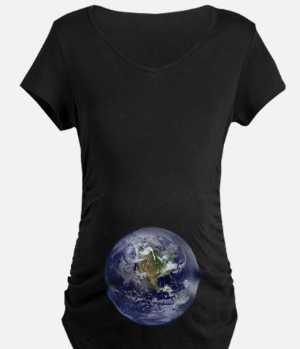 Western Earth from Space T-Shirt
