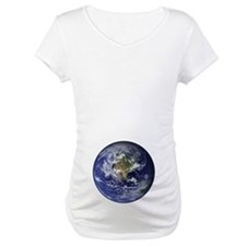 Western Earth from Space Shirt