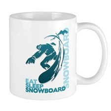 Eat Sleep Snowboard Mug