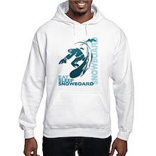Eat Sleep Snowboard Hoodie