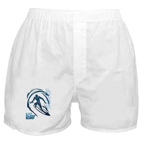 Eat Sleep Surf Boxer Shorts
